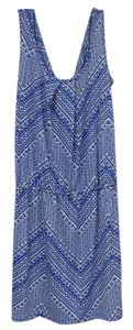Tori Richard short dress Blue, White, Periwinkle Ikat on Tradesy