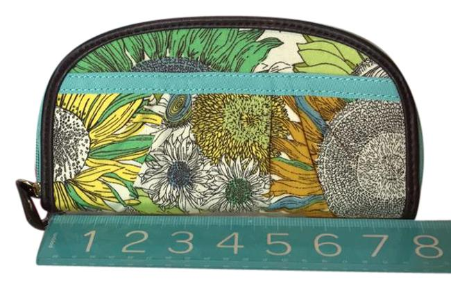 Liberty of London for Target Green Floral Cotton Blend Clutch Liberty of London for Target Green Floral Cotton Blend Clutch Image 1