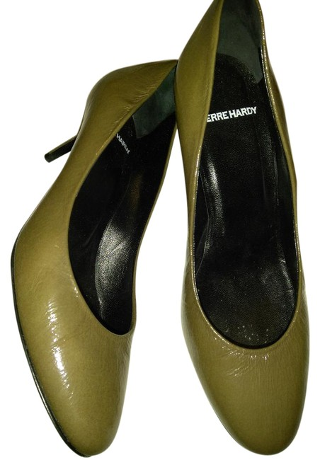 Pierre Hardy Brownish Green Made In Italy Low Pumps Size EU 37 (Approx. US 7) Regular (M, B) Pierre Hardy Brownish Green Made In Italy Low Pumps Size EU 37 (Approx. US 7) Regular (M, B) Image 1