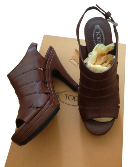 Preload https://item2.tradesy.com/images/tod-s-brown-mule-sandals-size-us-6-2182531-0-0.jpg?width=440&height=440