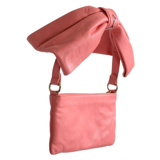 RED Valentino Women's Pink Leather Shoulder Bag RED Valentino Women's Pink Leather Shoulder Bag Image 1