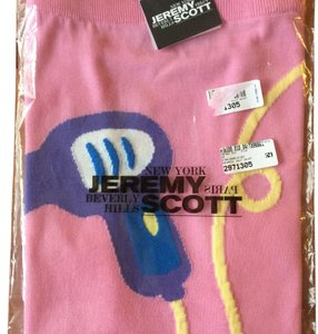 Jeremy Scott Moschino Mini Skirt Pink