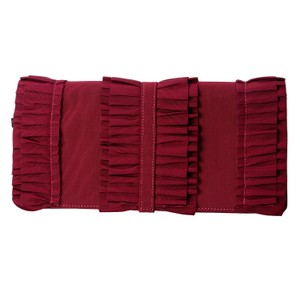 RED Valentino Vine Red Clutch