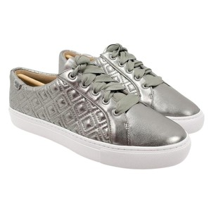 2c353965f Tory Burch Gunmetal Marion Quilted Sneakers Sneakers Size US 8 ...