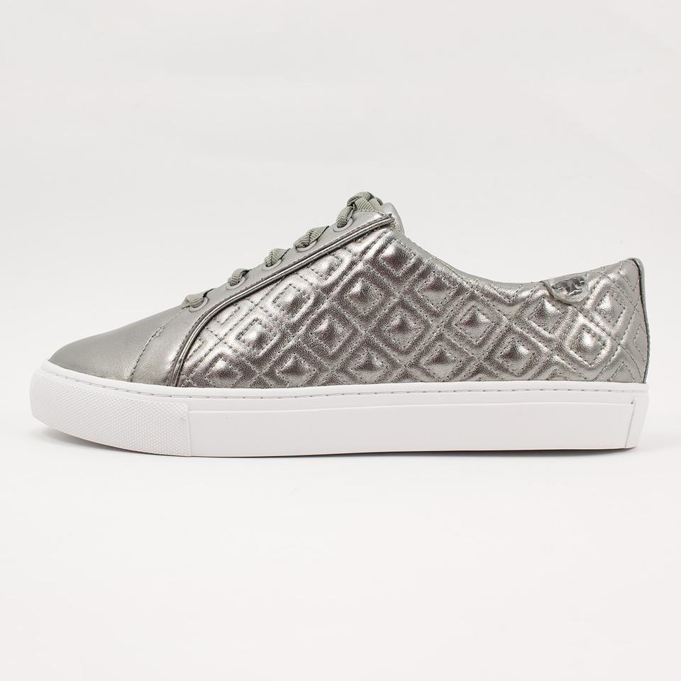 Gunmetal Marion Sneakers Burch Tory Sneakers Quilted U17Wwq