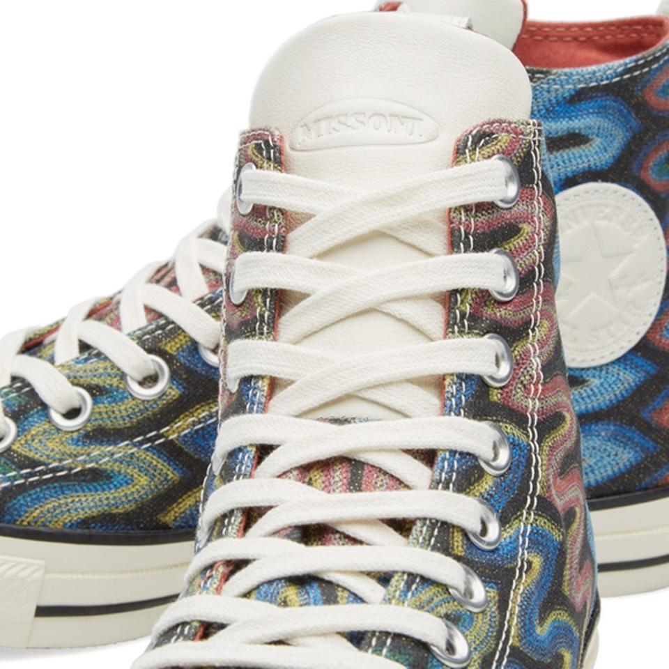 bc0a5bf2ed1 Converse Multicolor Limited Edition X Missoni Chuck Taylor Hi Sneakers Size  US 7 Regular (M