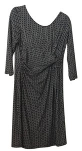 Séraphine Seraphine chain link print dress