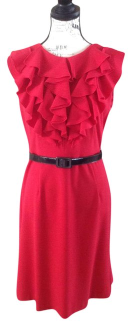 Preload https://img-static.tradesy.com/item/21827387/emma-and-michele-red-statement-mid-length-workoffice-dress-size-8-m-0-1-650-650.jpg