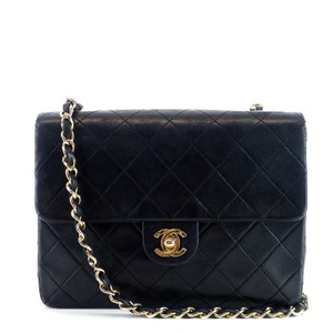 Chanel Classic Flap Woc Lambskin Gold Plated Shoulder Bag