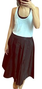 Antonio Marras Taffeta Skirt Brown