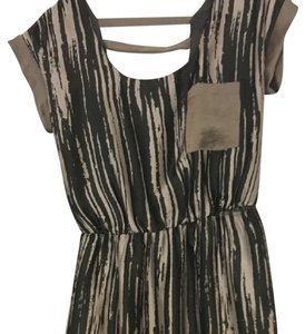 Collective Concepts short dress silver and black on Tradesy