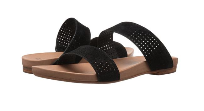 Johnston & Murphy Black Box Jodi Perforated Slide Suede New In 9m Sandals Size US 9 Regular (M, B) Johnston & Murphy Black Box Jodi Perforated Slide Suede New In 9m Sandals Size US 9 Regular (M, B) Image 1
