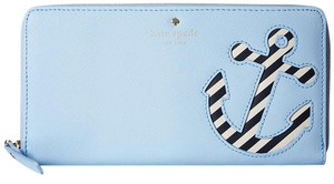 Kate Spade kate spade Expand Your Horizons Overboard Lacey Wallet Blue Multi