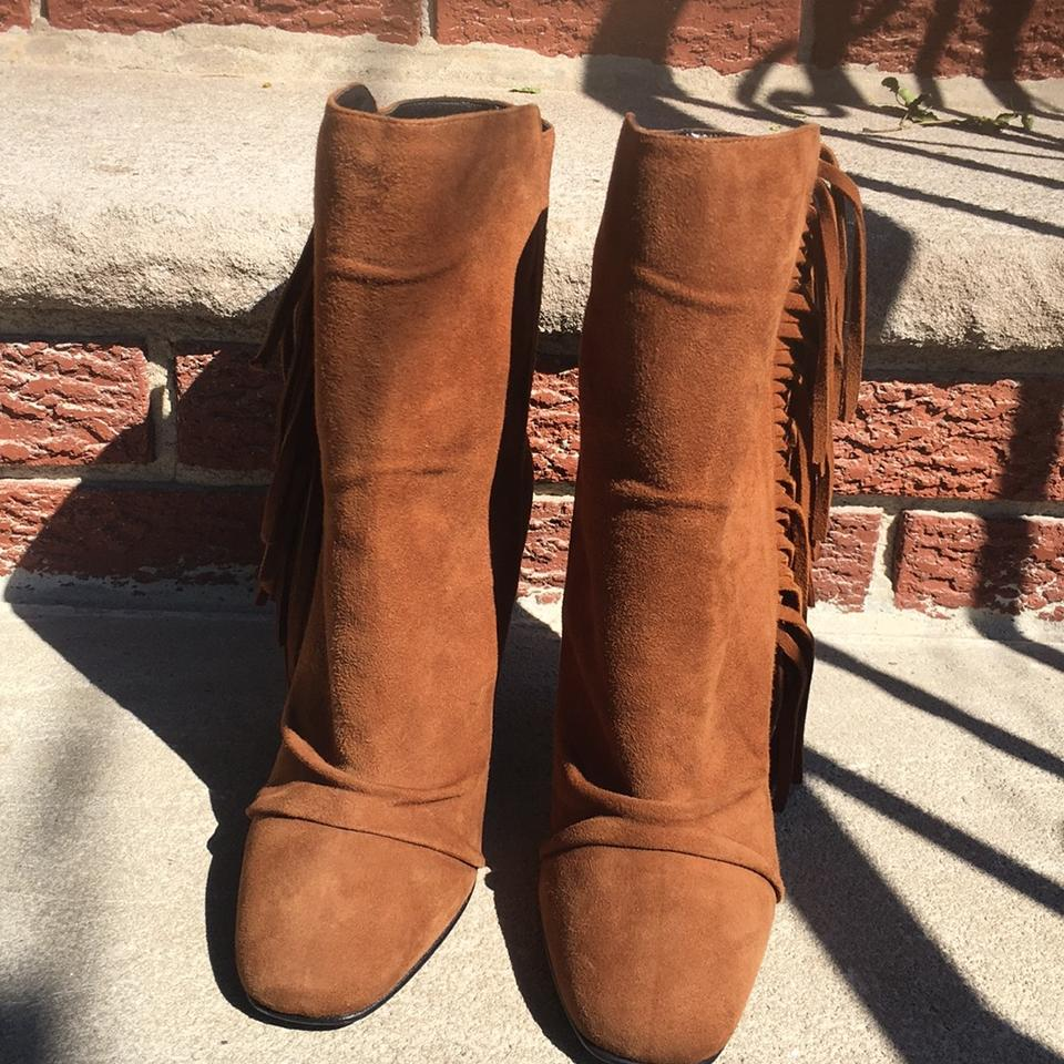 a93e1d406f142 Vero Cuoio Rust 57085 Boots Booties Size US 6.5 Regular (M