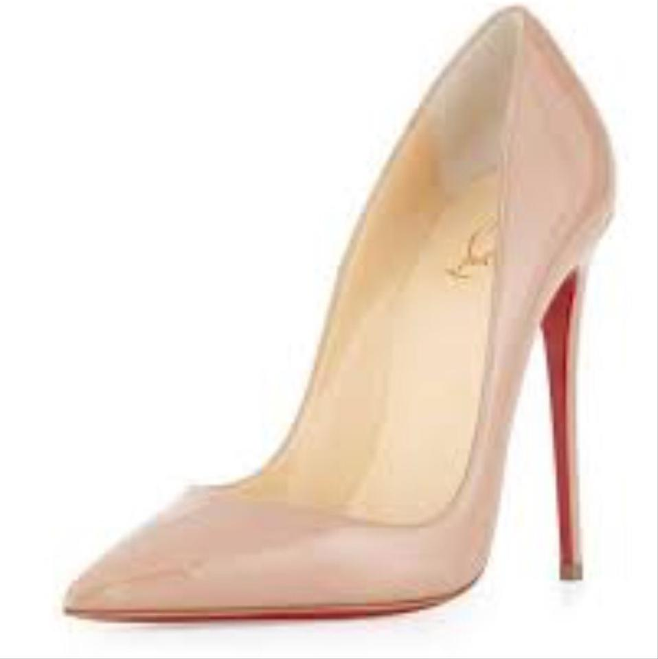 dbcf3273517 Christian Louboutin Blush Pink So Kate Patent Leather 120mm Point ...