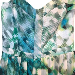 Green & White Maxi Dress by Parker