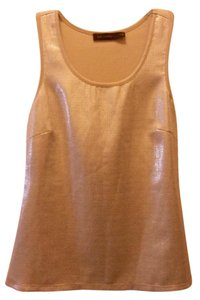 The Limited Date Sparkle Top Tan