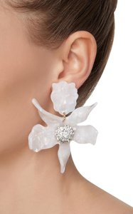 Lele Sadoughi Brand New Lele Sadoughi Crystal Lily Flower Earrings