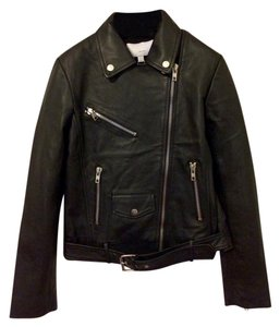 Walter Baker Leather Black Jacket