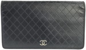 Chanel Quilted Bifold Wallet