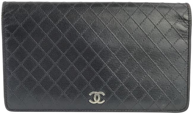 Item - Black Quilted Bifold Wallet