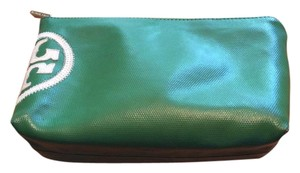 Tory Burch Leather cosmetic bag