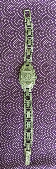 Other Vintage-Inspired Gatsby Bracelet Watch Image 2