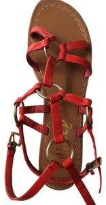 Juicy Couture Red Sandals