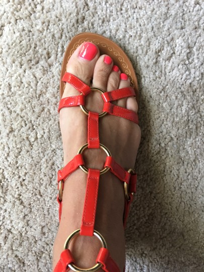 Juicy Couture Red Sandals Image 1