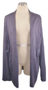 Eileen Fisher Lavender Draped Cardigan