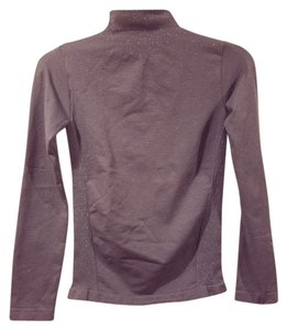 Poof! Apparel Brand Turtleneck Junior Clothing Size S (2-4) & Silver Top Gray