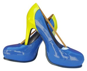 Simply Vera Vera Wang Heels Pump Multi-color Stiletto Blue Platforms