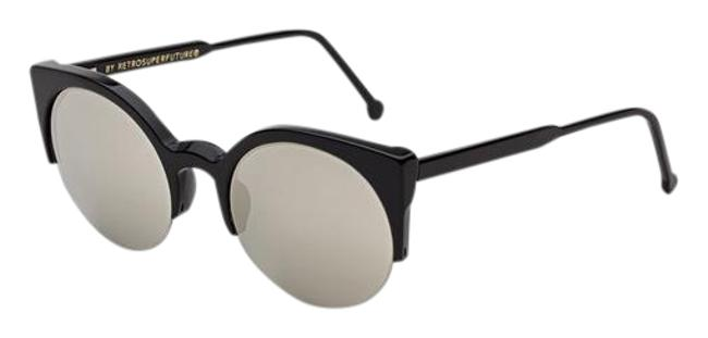 Item - Black/ Silver Lucia In Ivory Sunglasses