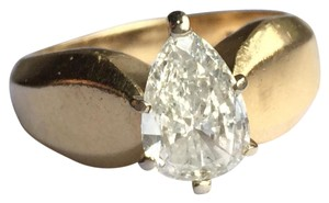Gold Si1 Engagement Ring