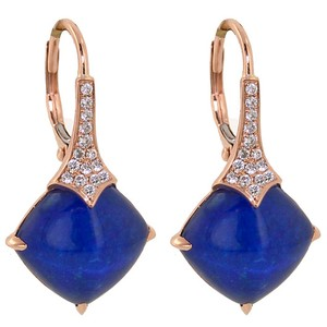ABC Jewelry Fashion Lapis Dangle Earrings - item med img