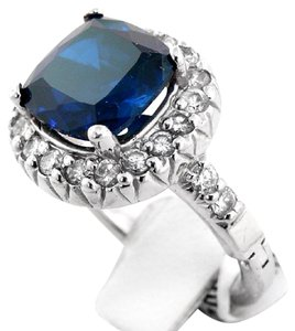 abc jewelry adjustable sapphire and diamond ring 53 off