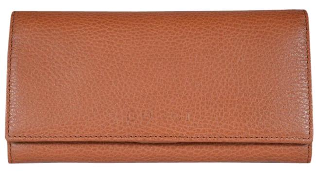 Gucci Orange Women's Leather Continental Flap Saffron 346058 4276 Wallet Gucci Orange Women's Leather Continental Flap Saffron 346058 4276 Wallet Image 1