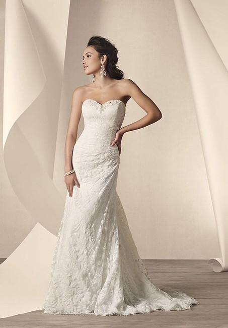 Item - Ivory Lace 2208 Wedding Dress Size 24 (Plus 2x)