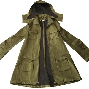 Alexander Wang Long Peacoat Military Jacket