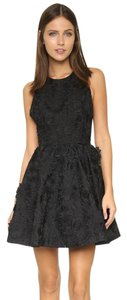Alice + Olivia short dress Black Tory Burch Tibi Lela Rose Rachel Zoe Haute Hippie on Tradesy