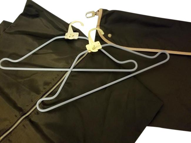 Item - Garment Cover Inserts Hangers For Brown Nylon Weekend/Travel Bag