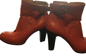 Chie Mihara Leather Ankle Brown Boots