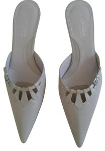 Via Spiga New Pump Pointed Toe Baby blue Mules