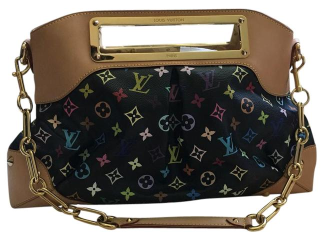 Item - Limited Edition Sold Out Anywhere Great For Collection Black/Multi Leather Satchel