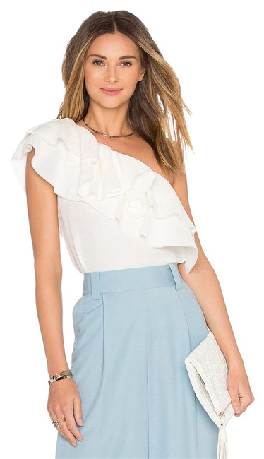 Rachel Zoe Victoria Beckham Alice Olivia Elizabeth And James Tibi Zimmermann Top White Image 0