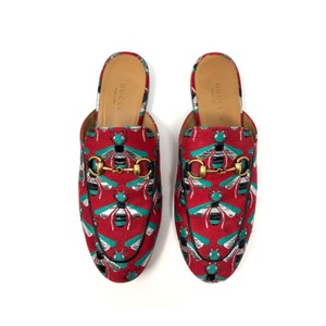 Gucci Slides Loafers Red ladybug Mules