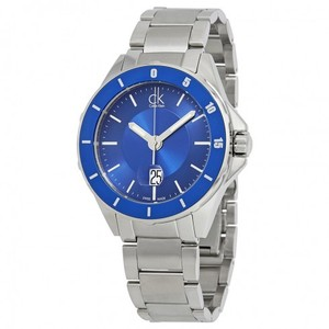 Calvin Klein CK Blue Dial Date Men's Watch