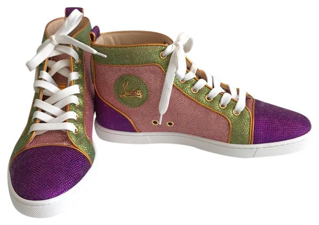 Item - Multicolor Bip Bip Orlato Glitter High-top Sneakers Size US 9 Regular (M, B)