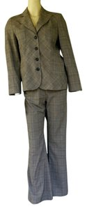 Garfield & Marks GARFIELD & MARKS Plaid Pantsuit Pants Jacket Suit 4