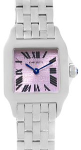 Cartier Cartier Santos Demoiselle Purple Dial Steel Ladies Watch W2510002